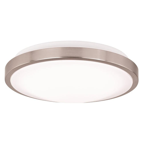 "Vaxcel Aries 12"" Round LED Flush Mount"