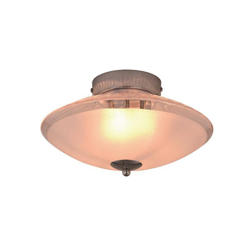Vaxcel Iris Semi-Flush Mount, Chrome