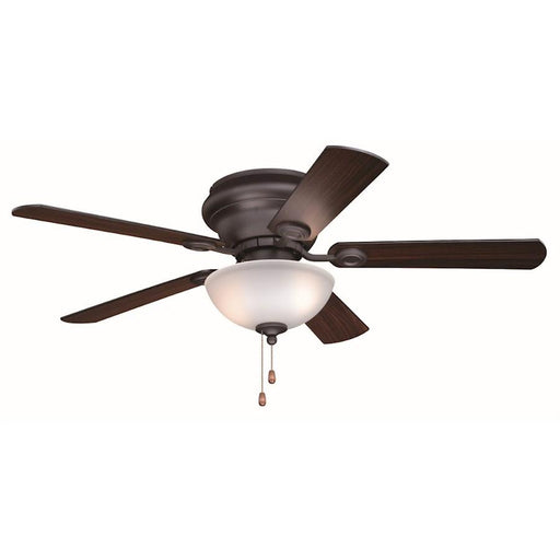 "Vaxcel Expo 2 Light 52"" Ceiling Fan, Nobel Bronze"