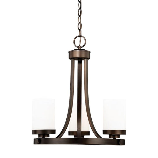 Vaxcel Sorin Mini Chandelier, Architectural Bronze