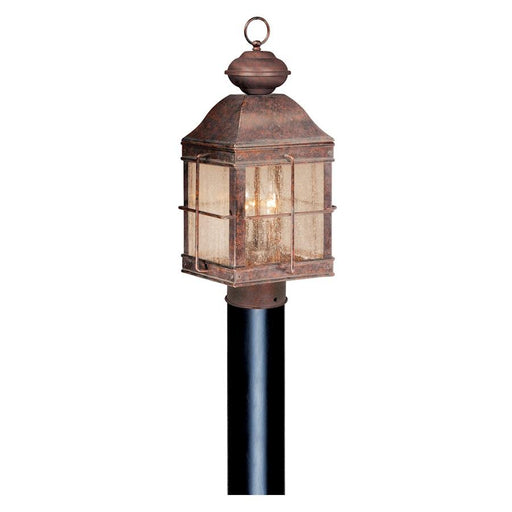 "Vaxcel Revere 10"" Outdoor Post Light Royal Bronze"