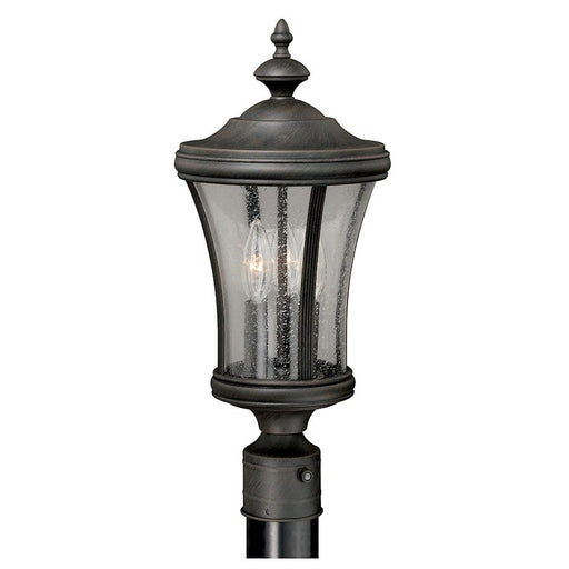 Vaxcel Hanover Post Light, Brushed Iron