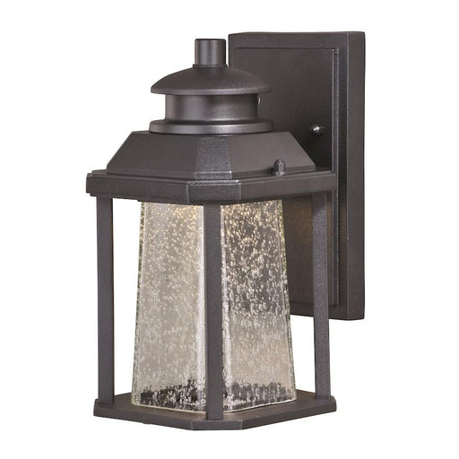 Vaxcel Freeport LED Outdoor Wall Light, Textured Black