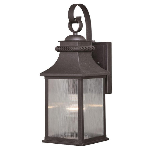 Vaxcel Cambridge 1 Light Outdoor Wall Light, Oil Rubbed Bronze