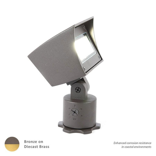 WAC Lighting LED Single 12V Flood Light, Adjustable Output