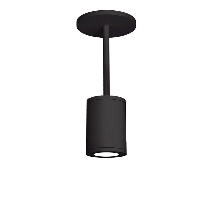 "WAC Lighting Tube Architect 5"" LED Pendant, Black"