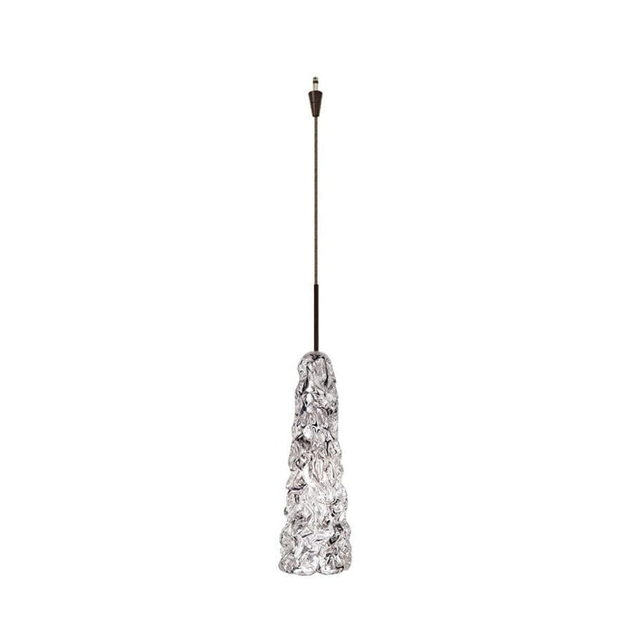 WAC Lighting WAC Lighting Ice 1 Light Pendant, Clear Glass