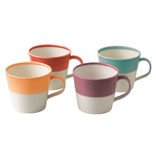 Royal Doulton 1815 Bright Colors Mugs in Set of 4
