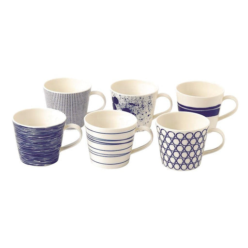 Royal Doulton Pacific Accent Mugs in Set of 6