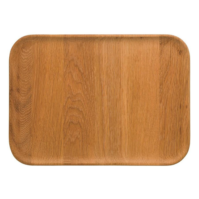 "Barber and Osgerby for Royal Doulton Olio Wooden 13.7"" Rect. Platter"
