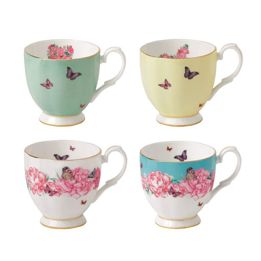 Miranda Kerr for Royal Albert Vintage Mugs in Set of 4