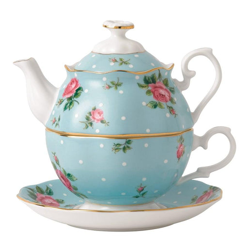 Royal Albert Polka Blue Tea for One
