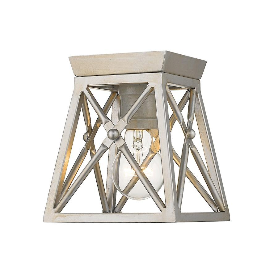 Z-Lite Trestle 1 Light Flush Mount