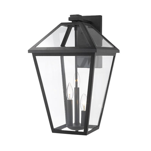 Z-Lite Talbot 3 Light Small Outdoor Wall Sconce