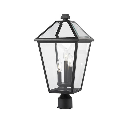 "Z-Lite Talbot 3 Light 20"" Outdoor Post Mount Fixture"