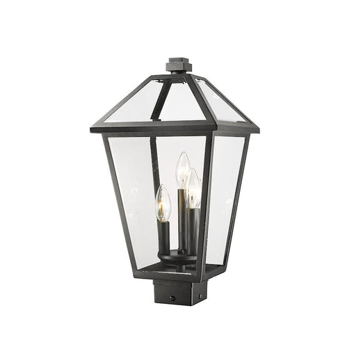 "Z-Lite Talbot 3 Light 19"" Outdoor Post Mount Fixture"