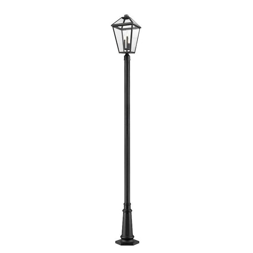 Z-Lite Talbot 3 Light Outdoor Post