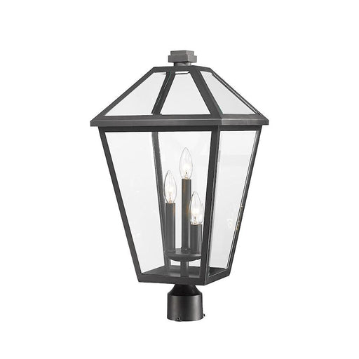 "Z-Lite Talbot 3 Light 24"" Outdoor Post Mount Fixture"