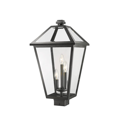 "Z-Lite Talbot 3 Light 22"" Outdoor Post Mount Fixture"