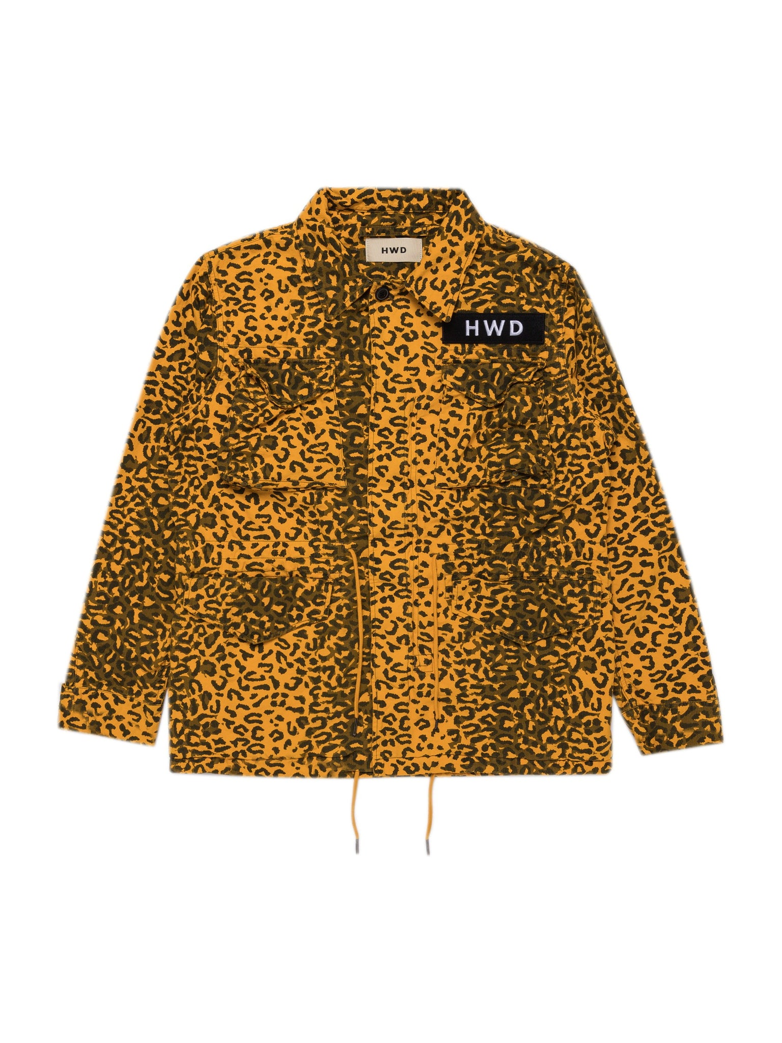 Yellow Cheetah M65 Jacket