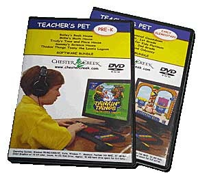 """Teachers Pet"" Pre-K Learning Software"