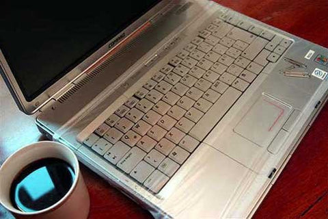 Removable Laptop Keyboard Protector Shield