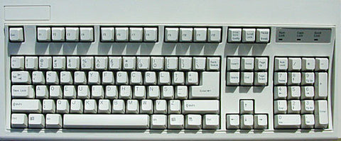 Dvorak Heavy Duty Key Keyboard