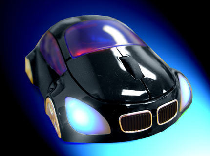 M-Coupe Optical Mouse - Black