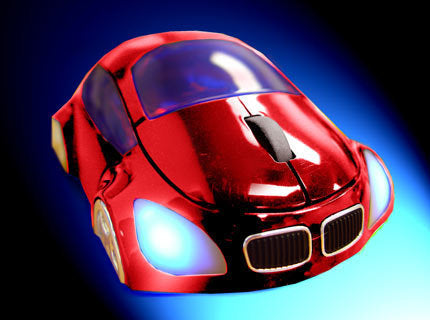 M-Coupe Optical Mouse - Red