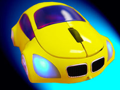 M-Coupe Optical Mouse - Yellow