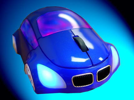M-Coupe Optical Mouse - Blue