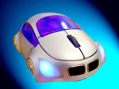 M-Coupe Optical Mouse - Sliver