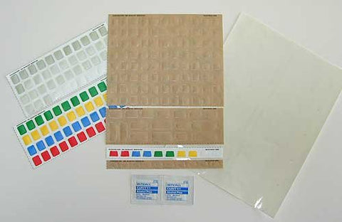 Do It Yourself! Keyboard Sticker Label Making Kit