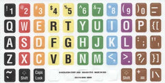 Typing-Tutor Large Print Keyboard Sticker Label Kit