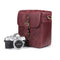 MegaGear Torres Mini Genuine Leather Camera Messenger Bag for Mirrorless, Instant and DSLR Cameras