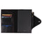 Personalized Fine Leather Portfolio with Notepad (Snap Closure & Lock)-Black-1
