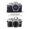 MegaGear Olympus OM-D E-M10 Mark IV Ever Ready Genuine Leather Camera Case, Bag and Accessories - Black-4