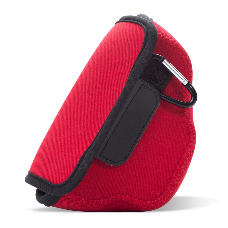 MegaGear Olympus OM-D E-M10 Mark IV Ultra Light Neoprene Camera Case, Bags, Accessories - Red-2