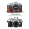 MegaGear Olympus OM-D E-M10 Mark IV Ever Ready Genuine Leather Camera Case, Bag and Accessories - Brown-4