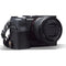 MegaGear Sony Alpha A7C Ever Ready Genuine Leather Camera Half Case, Bag and Accessories - Black-1