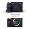 MegaGear Sony Alpha A7C Ever Ready Genuine Leather Camera Half Case, Bag and Accessories - Black-4