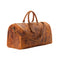 Londo Genuine Top Grain Leather Duffle Bag-Camel-1
