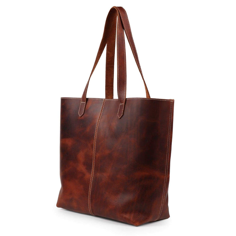 Londo Carmel Leather Tote Bag