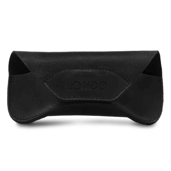 Londo Genuine Leather Case for Eyeglass Sunglasses Goggles