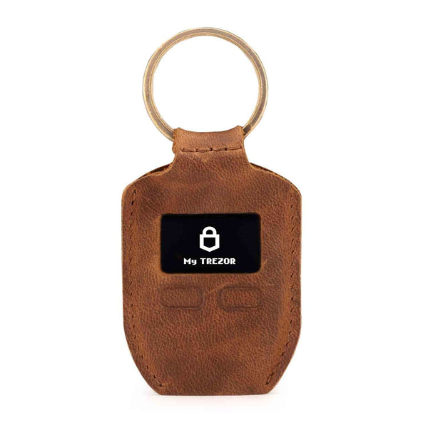 Londo Genuine Leather Case with Keyring for Trezor One