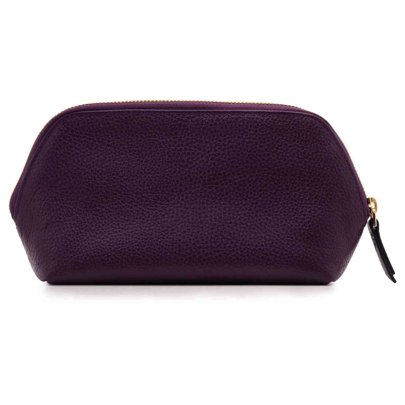 Londo Genuine Leather Makeup Bag Cosmetic Pouch Travel
