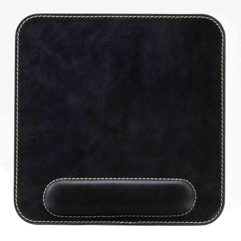 Londo Genuine Leather Mouse Pad with Wrist Rest