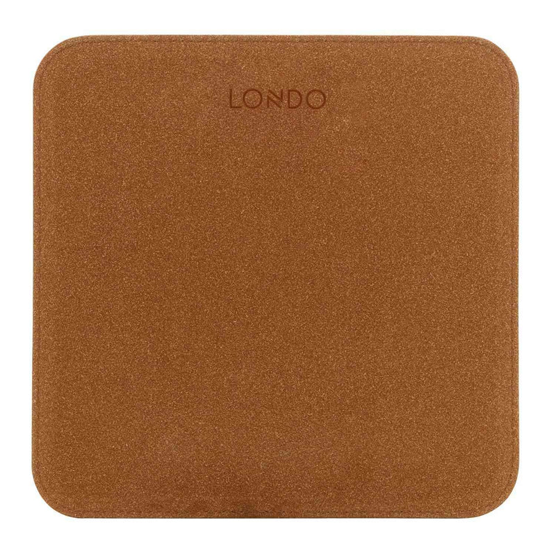 Londo Leather Mouse Pad with Wrist Rest