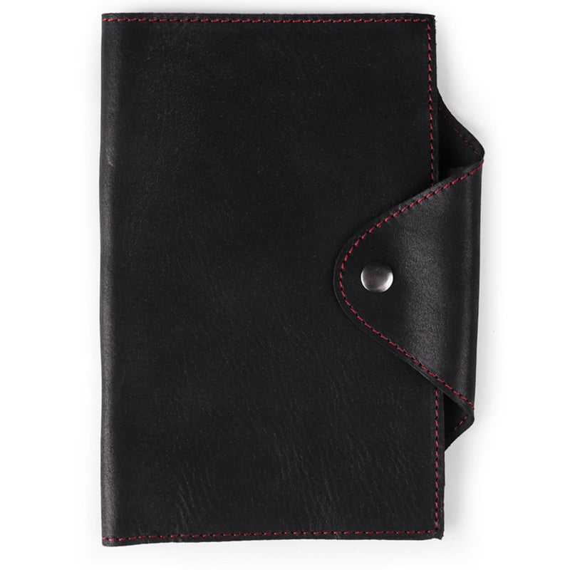 Londo Personalized Fine Leather Portfolio with Notepad (Snap