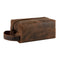 Londo Real Cowhide Leather Travel Bag - Dopp Kit - Cinnamon